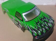 1/10 RC car 190mm on road drift Truck Body Shell Green