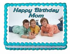 Your Personalized PHOTO edible cake image cake topper party decoration