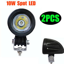 2X 10W Cree LED Work Light Spot Lamp Driving Fog 12V For Car Motorcycle Boat ATV
