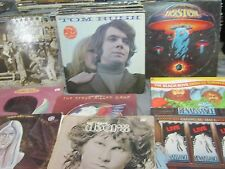 39 CLASSIC ROCK VINYL RECORDS - DOOR SALICE COOPER SPOOKY TOOTH BEACH  LARGE LOT