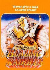 """""""BLAZING SADDLES"""" Gene Wilder & Mel Brooks 102cmx68.6cm Volle Größe Film"""