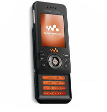 Sony Ericsson Walkman W580i -BLACK (Unlocked) Cellular Phone Free Shipping