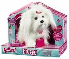 Animagic FLUFFY Goes Walkies Barking and Walking Puppy Dog Soft Plush Toy