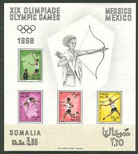 MEXICO SUMMER OLYMPIC GAMES ON SOMALIA 1968 Scott 339a, MNH