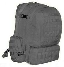 US 3 DAY PATROL MOLLE SWAT POLICE ASSAULT Outdoor RUCKSACK pack Black schwarz