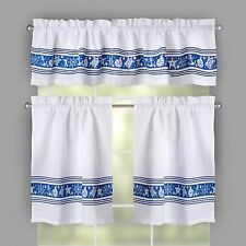 Anchors Aweigh Window Tier and Valance Set