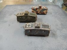 1/72 German WW1  A7V Tanks x 3