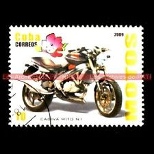 CAGIVA 125 Mito N1 Naked 2009 - Moto Timbre Poste Collection Stempel Stamp