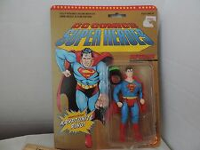 Toybiz DC Comics Super Heroes Superman Figure 1989 With Kryptonite Ring