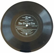 "VINTAGE JAZZ FLEXIDISC THE SWING ERA ~ TIME LIFE PROMO ONLY 5 SONG 7"" 33 1/3 EP"