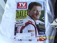 Dale Earnhardt Double-Issue Collectible TV GUIDE magazine June/July 2014 SMFH