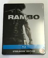 Zavvi | RAMBO | Blu-Ray Steelbook OOS/OOP New | Sylvester Stallone