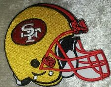 San Francisco 49ers Helmet Iron On Embroidered Patch ~USA Seller~FREE Ship