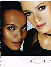 Publicité advertising 2004 Cosmétique maquillage Estée lauder