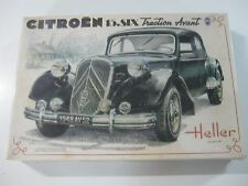 VINTAGE HELLER CITROEN 15.SIX TRACTION AVANT KIT DE CONSTRUCCION E:1/24 NUEVO!!!