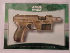 STAR WARS THE FORCE AWAKENS TOPPS 2015 CARDS GENERAL LEIA ORGANA'S BLASTER INSER