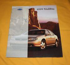 Chevrolet Malibu 1999 USA Prospekt Brochure Depliant Prospetto Catalog Folder