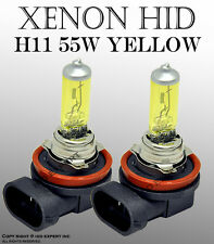 JDM H11 55W 1 pair Fog Light Xenon HID Golden Yellow Light Bulbs Te4T3644