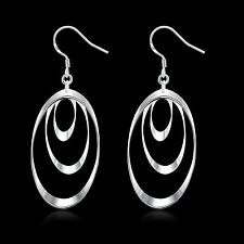 China Wholesale 925 Silver Filled Retro Earrings New Fashion Costume jewelry