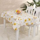 Floral PVC Tablecloth Rectangle Heat Insulation Table Cover Home Decor Cloth HOT