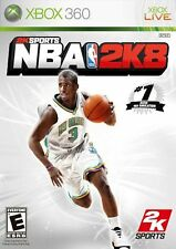 XBOX 360 2K Sports NBA 2K8 Video Game Multiplayer Tournament Basketball 2008 08
