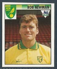 MERLIN 1995-PREMIER LEAGUE 95- #343-NORWICH CITY-BRISTOL CITY-ROB NEWMAN