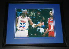 Michael Jordan Kobe Bryant 2003 All Star Game Framed 11x14 Photo Display