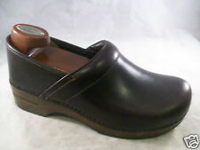 NEW DANSKO WOMEN'S XP PROFESSIONAL SLIP-ON CLOG ESPRESSO OILED 42 12 MEDIUM $135