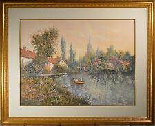 """Colin Maxwell Parsons Artist Proof Signed Litho """"Riverside Morning"""" AP 41/50!"""