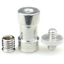 """Hot 1/4"""" 3/8"""" Tripod screw Mount Bracket Holder Camera Spigot convert Adapter"""