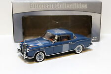 1:18 SunStar Mercedes 220 SE Coupe blue NEW bei PREMIUM-MODELCARS