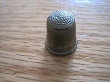 Brass Advertising Thimble--The Prudential Life Insurance