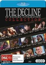 The Decline of Western Civilization Blu Ray Collection Blu-ray Discs NEW