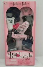 Best Friends 4-Ever Fashion Pack School is Cool Doll Clthng w/ 2 Keepsake Charms