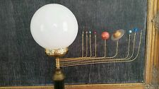 Antiqued Orrery Lamp by South Carolina artist, Will S. Anderson