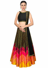 Purple Oyster Multi color designer Printed lehenga choli for woman