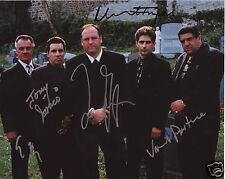 SOPRANOS AUTOGRAPH SIGNED PP PHOTO POSTER