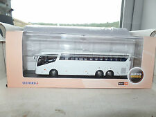 Oxford 1/76 OO Scale 76IRZ005 IRZ005 Scania Irizar PB Coach Dealer White Code 3