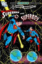 DC COMICS PRESENTS # 87 - SUPERMAN + SUPERBOY - 777 Ex  COMIC ACTION 2006 - TOP