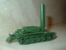 1/87 HO scale Russian  BTS-4 Recovery Vehicle on T-55 tank chassis.