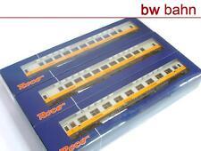 Roco H0 45912 Wagen-Set Lufthansa Airport Express Personenwagen gelb/grau Neu
