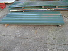 NEW BOX PROFILE ROOF ROOFING SHEETS 8FT LONG WILL COVER 1M WIDTH CORRUGATED
