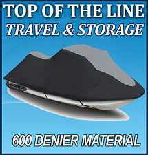 Yamaha VX 110 Deluxe / Sport Jet Ski PWC Cover Black/Grey up to 2014