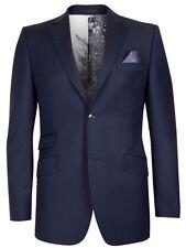 Ted Baker Endurance Garjak Sterling Wool Blue Jacket / Blazer Size 38 S RRP £305
