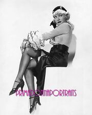 "WYNNE GIBSON 8X10 Lab Photo 1932 Sexy Fishnets Portrait ""IF I HAD A MILLION"""