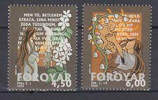Färöer 2000 ** Mi.385/86 Weihnachten Christmas | Maria mit Kind Mary with Child