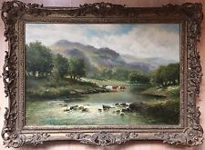 William Langley (1852-1922), oil painting on canvas signed gilt frame