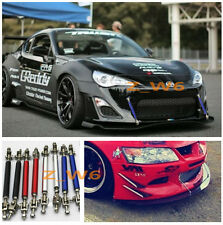 Universal Adjustable Front/Rear Frame Bumper Protector Splitter Rod Support