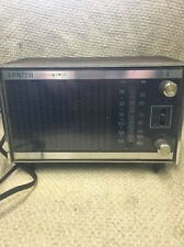 Vintage Zenith Solid State Model # C414W  AM/FM Clock Radio