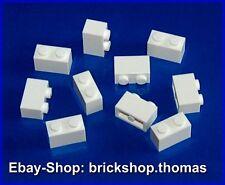 Lego 10 x Steine Bausteine weiß - 3004 - Basic Brick 1 x 2  white - NEU / NEW